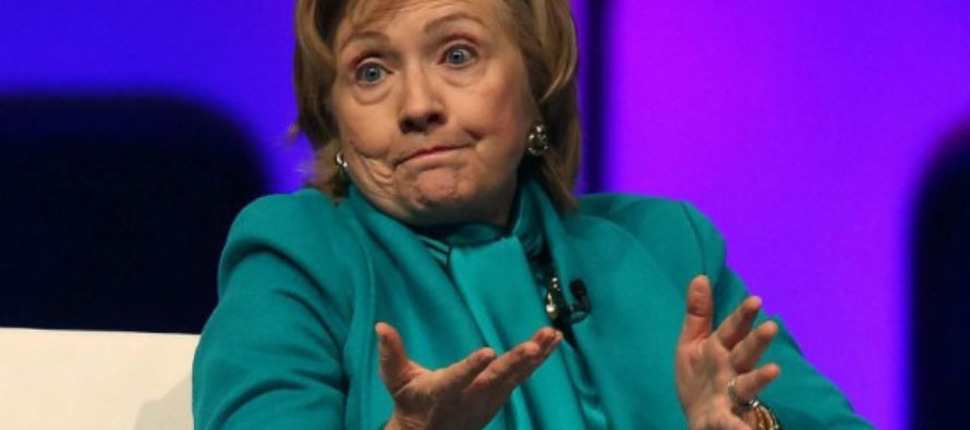 Hillary swears to stop TAKING BRIBES if she becomes POTUS