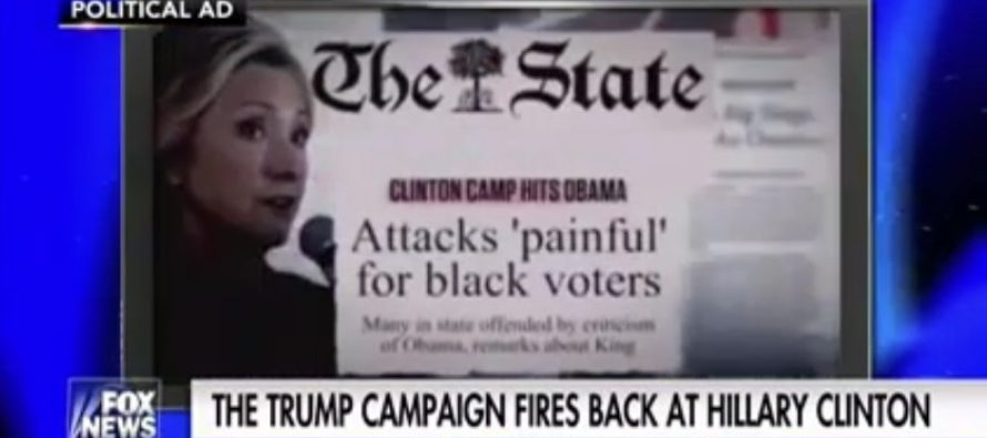 Hannity loses control as Black leaders DESTROY Hillary with BLACK FACE quote