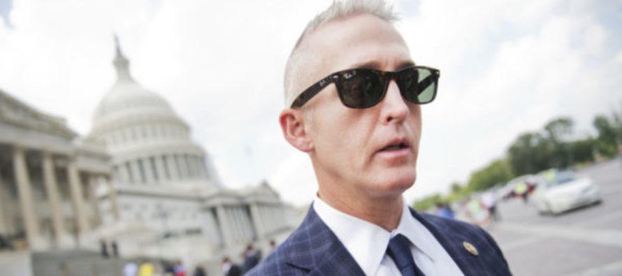 BOOM! Trey Gowdy UNLEASHES Sick TRUTH On Why FBI Let Hillary Walk FREE…