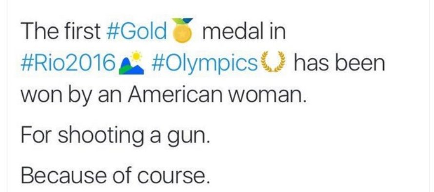 USA wins a GOLD medal and Liberals lose their minds (in a bad way) [VIDEO]