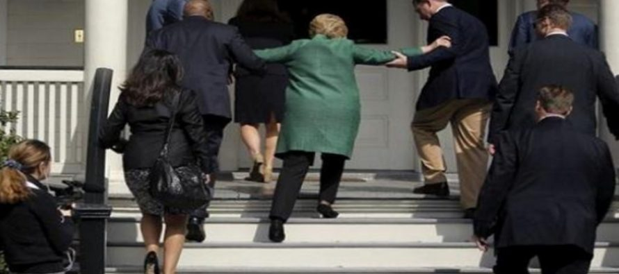 Coughing Fits? Her Stair Climb Helpers? The Many AILMENTS Of Hillary Clinton… [VIDEO]