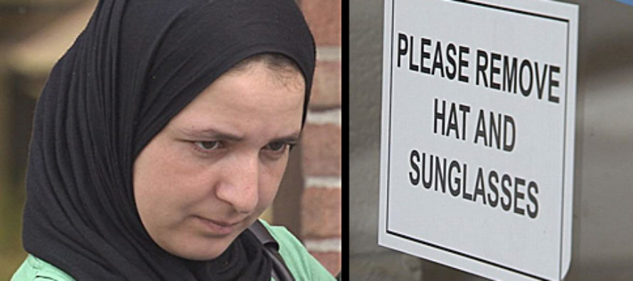 Entitled Muslim Refuses to Remove Hijab… Then THIS Happens