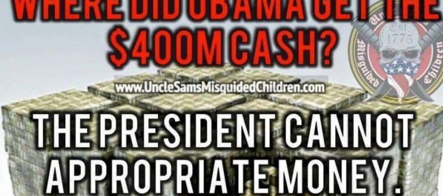How Did Obama REALLY Get His Hands On 400 Million Dollars? [Meme] [VIDEO]