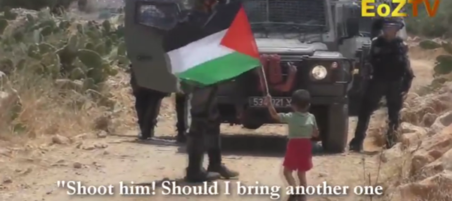 EVIL: Palestinian Caught on Tape TRYING to Goad Israelis Into Shooting His Little Boy [VIDEO]