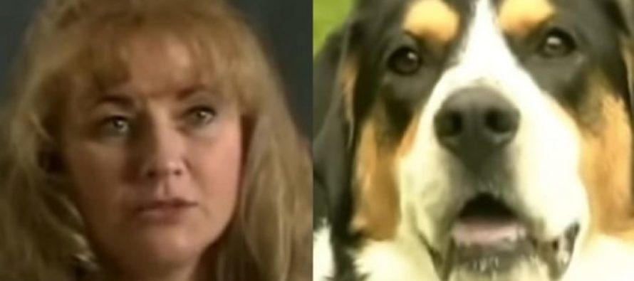 VIDEO: She Was In the Bath When Her Dog Ran In and Bit Her Arm. It Saved Her Life.