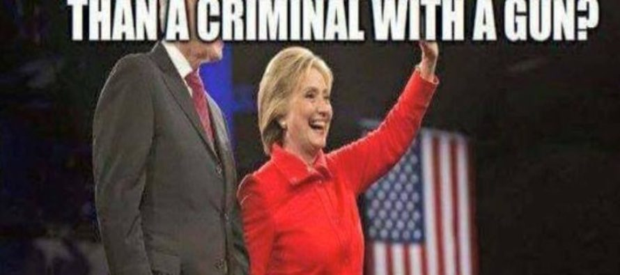 The Only Thing Scarier Than A Criminal With A Gun Will Make Liberals CRAZY…[Meme] [VIDEO]