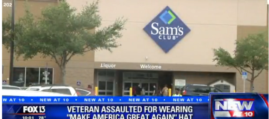 Hispanic Army Veteran ASSAULTED In Sam's Club For Wearing Trump Hat…VIDEO