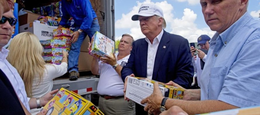 Trump MAKES FOOLS of Media & Politicians In Louisiana By Doing This… [VIDEO]