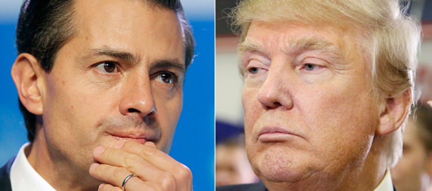Trump Just Met Mexico's President – Guess What Happened