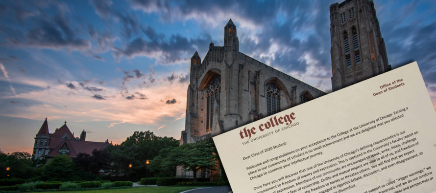University of Chicago DESTROYS Safe Spaces in Epic Letter to Students