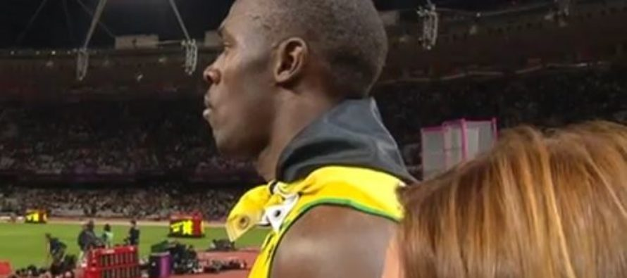 Olympian Athlete Stops Interview To Honor The US On World Stage [VIDEO]