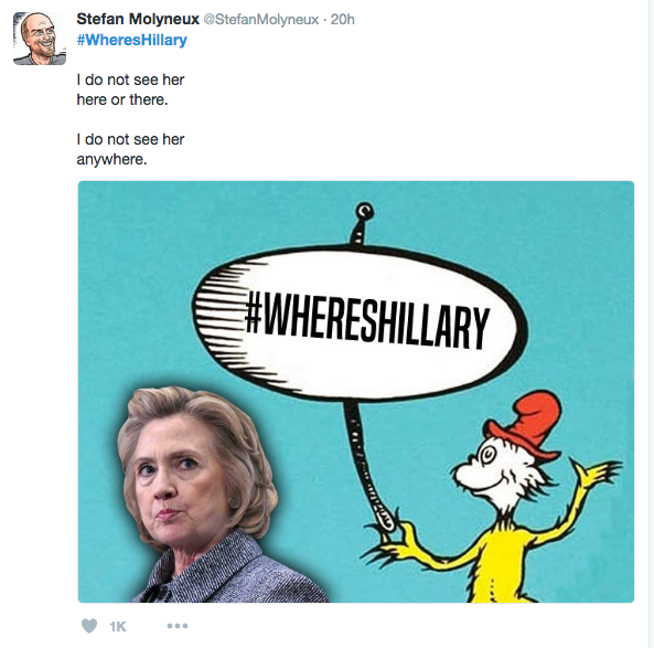 where's hillary cat in hat