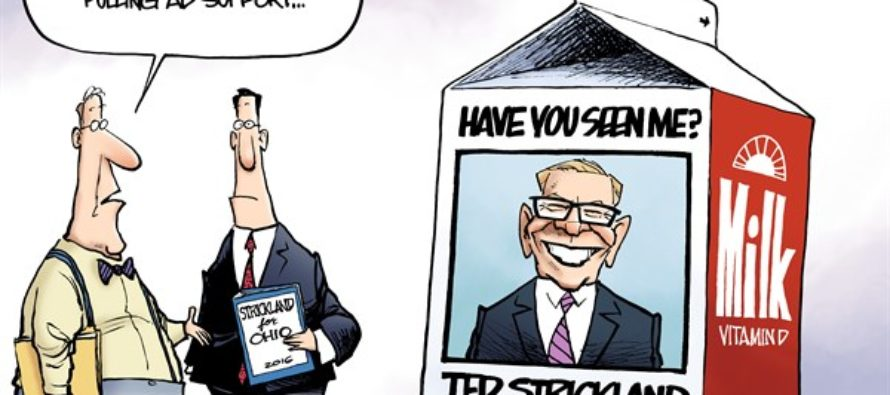 LOCAL OH – Ted Strickland Ad (Cartoon)
