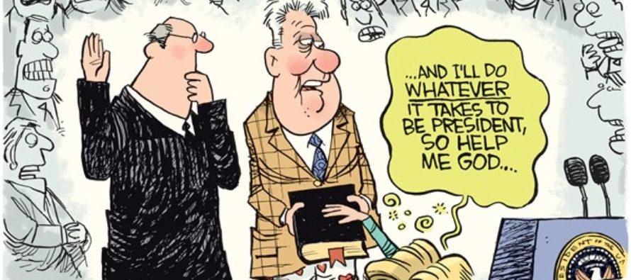 Sick Hillary (Cartoon)