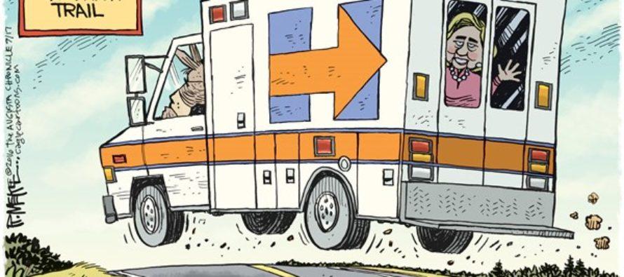 Hillary Ambulance (Cartoon)