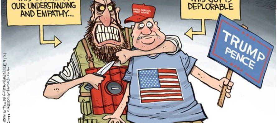 Deplorable Terror (Cartoon)