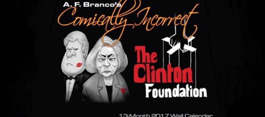 2017 A.F. Branco Calendar is HERE!!! (Cartoon)