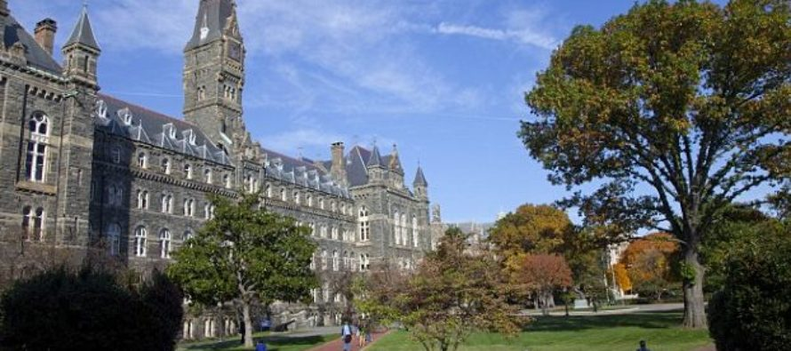 BREAKING: Elite Georgetown University to Give Preferred Admission to Slave Descendants