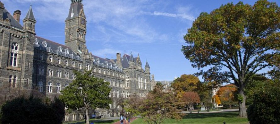BREAKING: Elite Georgetown University to Give Preferred Admission to Slave Descendants [VIDEO]