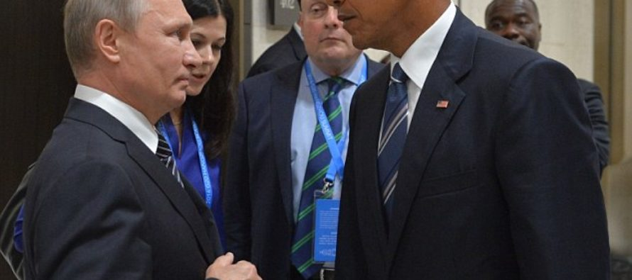 Obama Gives Putin Death Stare… Watch What Happens Immediately After