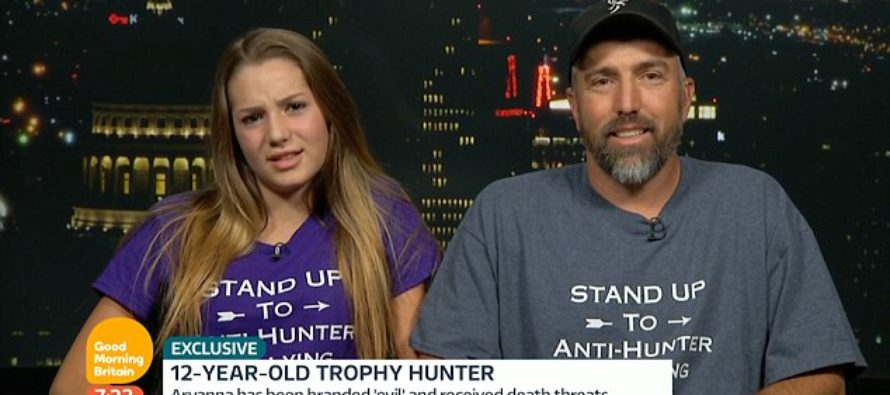 VIDEO: Liberal Piers Morgan Attacks 12-Year-Old Female Hunter: What If I killed Your cat?