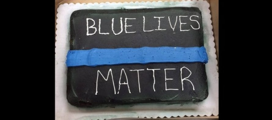 DISGRACEFUL: Wal-Mart Employee Refuses To Decorate Pro-Cop Cake Because 'That's Racist'