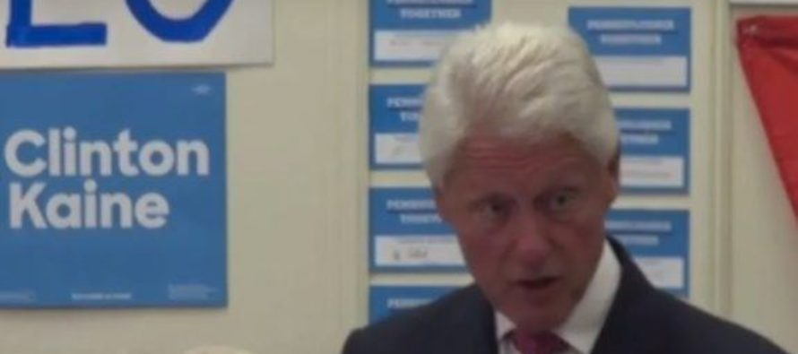 Oops! Bill Clinton Goes OFF Script SLAMS Obama BIG TIME…VIDEO