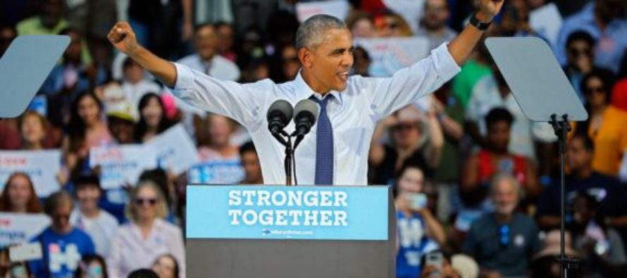"""Trump Just LEVELED Obama's Campaigning For Sick Hillary – """"Shouldn't You Be At Work?"""""""