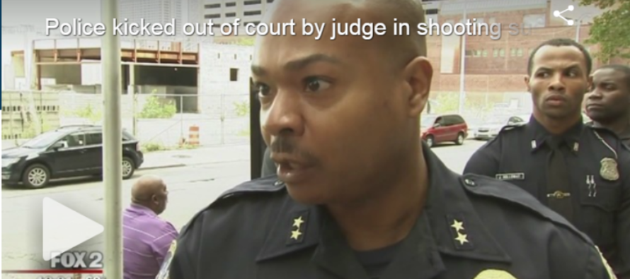 Thug Shoots Cop, Black Biased Judge Throws Police Out Of Court For Infuriating Reason