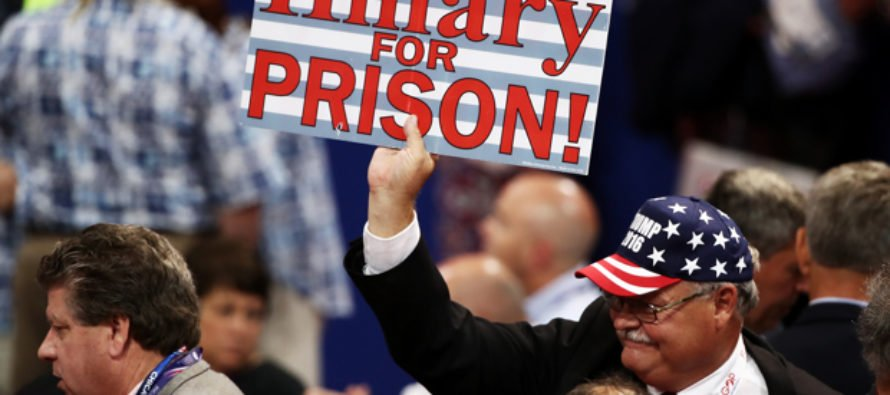 """Clinton's Response To """"Hillary For Prison""""?! """"Let's Make It Happen!"""" [VIDEO]"""
