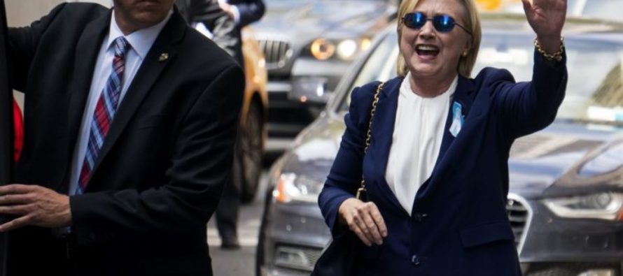 Telling Photo Of Hillary LEAKS Out To Press – She's Doing A LOT Worse Than We Thought…