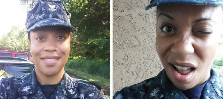 Navy Sailor PROUDLY Sits During National Anthem In Uniform – Navy Veterans Set Her STRAIGHT! [VIDEO]