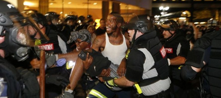 One Critically Wounded As Charlotte Police Endure Second Night Of RIOTS… [VIDEO]