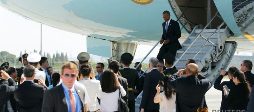 BREAKING: CHAOS Breaks Out As Obama Lands On Chinese Soil!