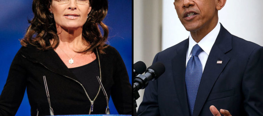 Obama CLOWNS On Palin During Speech – Palin Serves Up MASSIVE Right Wing Hook In Response!