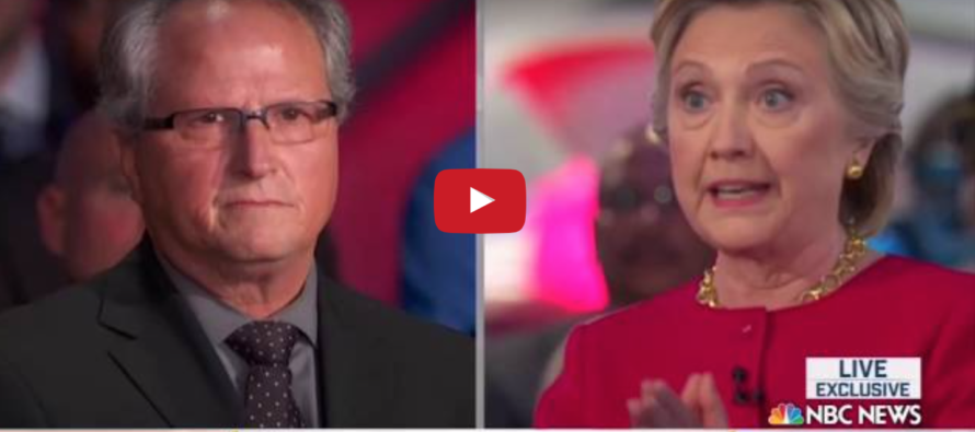 Veteran Confronts Hillary: If I Did What You Did, I'd Be in JAIL