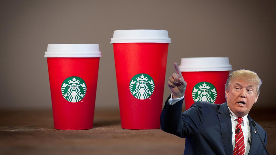 Trump-Starbucks