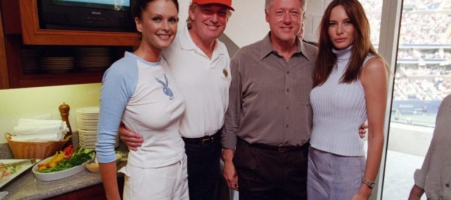 Shocking Photos of Bill Clinton and Donald Trump Just Broke the Internet