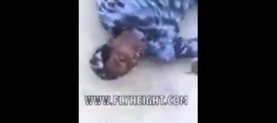 VIDEO: Soon after this guy tried the drug K2, he was rolling around on the ground