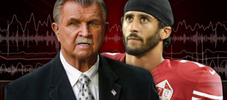 "Legendary Coach Mike Ditka Gives Kaepernick Some Advice: ""Get The Hell Out!"""