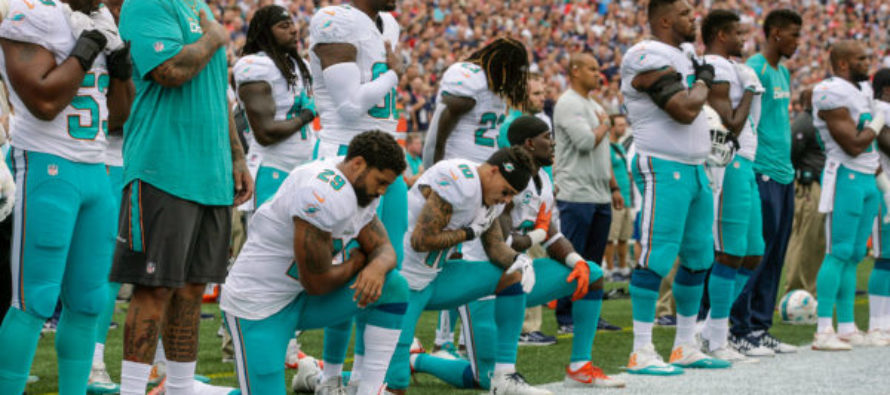 Police Union Asks Deputies To Not Escort Dolphins Until The Team's Players Stand For Anthem