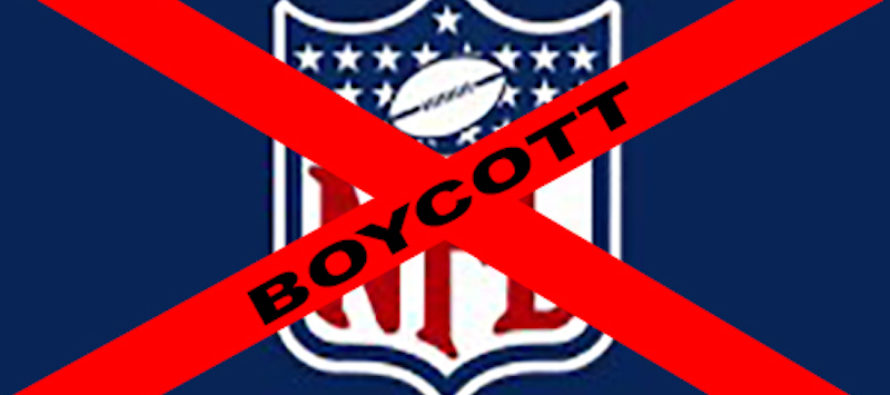 NFL Players Protest Anthem, Now League Has Concerns About Fans' Reaction – They're Not Watching…