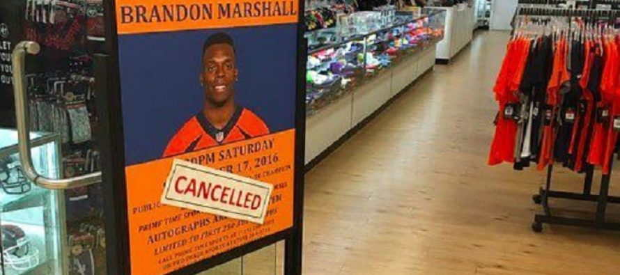 Store Owner CANCELS NFL Star's Autograph Event Over National Anthem Protests – Plan B Was Even BETTER! [VIDEO]