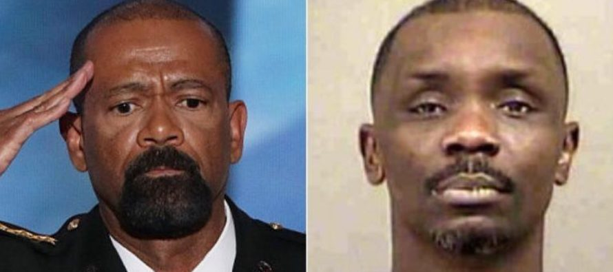 Drunk BlackLivesMatter Thug Goes Toe to Toe With Sheriff Clarke – Guess Who Won?