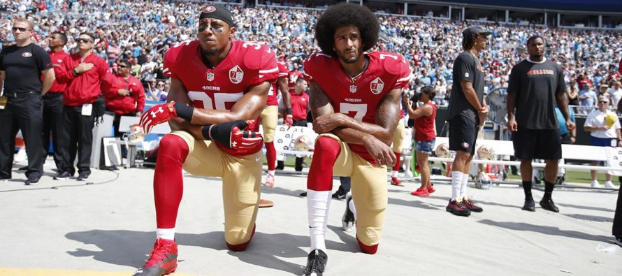Black Lives Matter and the Left Responsible for Entitled Athletes Disrespecting the National Anthem