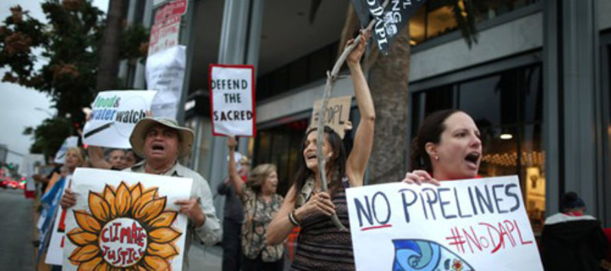 Richard Trumka Pleads With Other Liberals to Allow Dakota Access Pipeline to Create Jobs