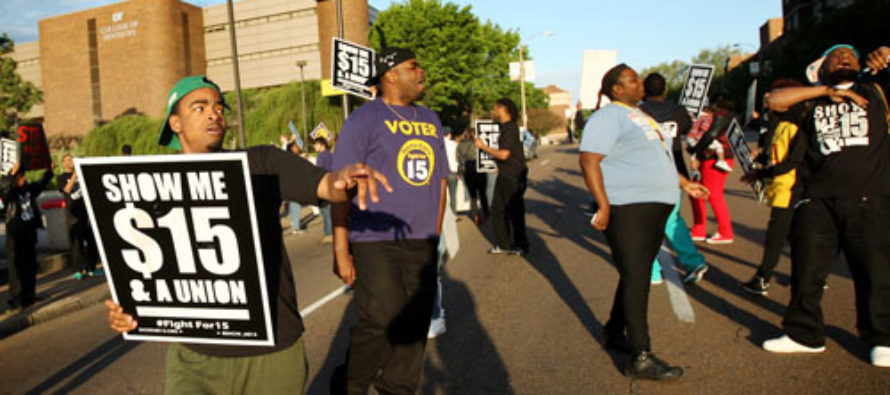 Fight for $15 Is Denounced as Racist