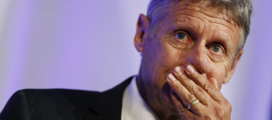 Gary Johnson Is Glad No One Got Hurt in Most Recent Islamic Terror Attacks