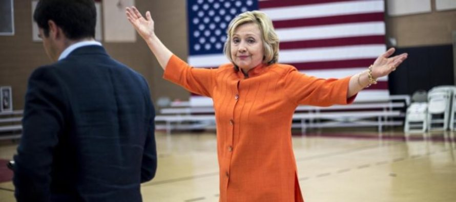 Hillary Clinton Has a Total Mental Lapse on Camera – Very Unpresidential! [VIDEO]