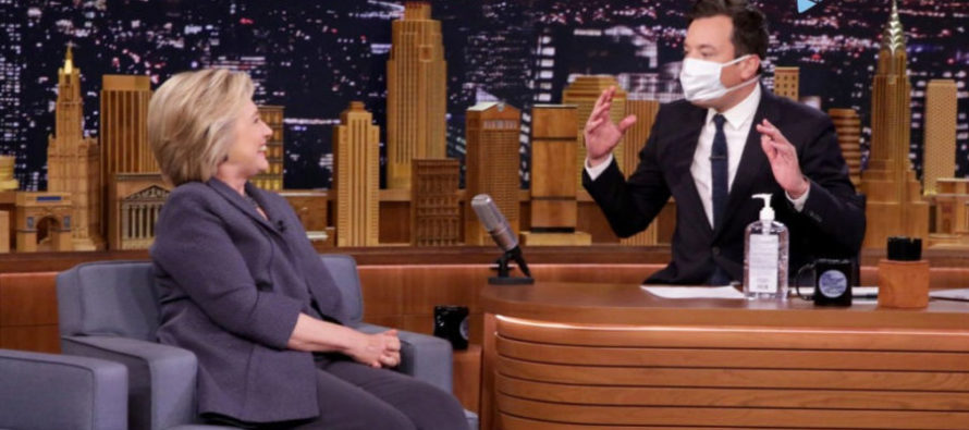 "VIDEO: Jimmy Fallon Sparks MOTHER LOAD Of ""Hurt Feelings"" From Liberals After Roasting Hillary Clinton…"